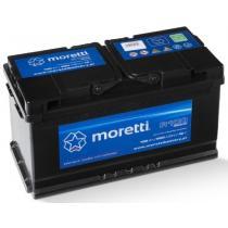 Akumulator samochodowy Moretti Premium 100AH/900A/P+