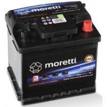 Akumulator samochodowy Moretti Premium 44AH/360A/P+