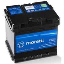 Akumulator samochodowy Moretti Regular 50AH/450A/P+