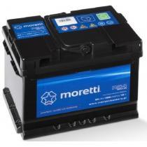Akumulator samochodowy Moretti Regular 54AH/480A/P+