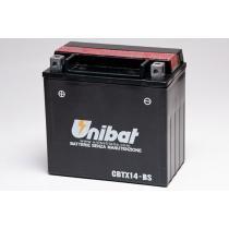 Akumulator bezobsługowy Unibat CBTX14-BS, 12V 12Ah