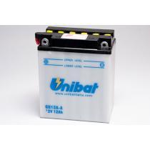 Akumulator standard Unibat CB12A-A, 12V 12Ah