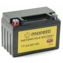 Bezobsługowy akumulator żelowy Moretti MT12A-BS, 12V 9,5Ah