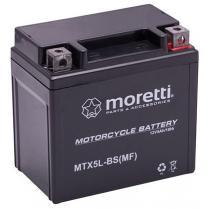 Bezobsługowy akumulator żelowy Moretti MTX5L-BS, 12V 5Ah
