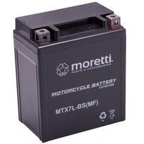 Bezobsługowy akumulator żelowy Moretti MTX7L-BS, 12V 7Ah