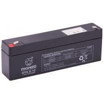 Bezobsługowy akumulator żelowy Moretti OT2.2-12, 12V 2,2Ah