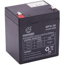 Bezobsługowy akumulator żelowy Moretti OT5-12, 12V 5Ah