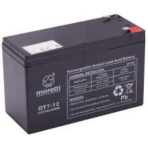 Bezobsługowy akumulator żelowy Moretti OT7-12, 12V 7Ah