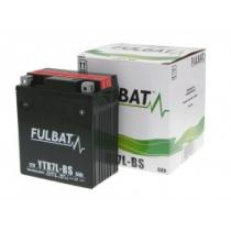 Bezobsługowy akumulator motocyklowy Fulbat YTX7L-BS, 12V 6Ah