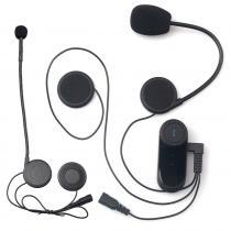 Bluetooth Intercom do přilby s propojením mezi jezdcem a spolujezdcem