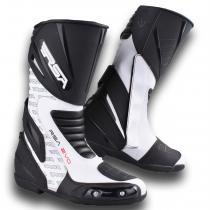 Buty na motocykl RSA Evo czarno-białe wyprzedaż
