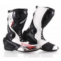 Buty na motocykl Tschul TX6-Pro czarno-białe