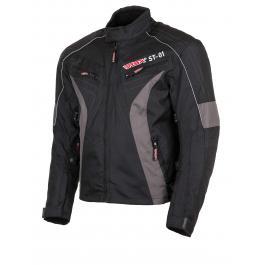Moto kurtka RSA ST-01 czarno-szara wyprzedaż
