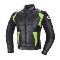 Kurtka motocyklowa Tschul 850 czarno-zielona