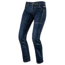 Damskie jeansy na motocykl Rebelhorn Classic niebieskie wyprzedaż
