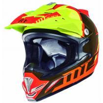 Dziecięcy kask motokrosowy MT MX-2 Spec fluo pomarańczowo-żółty