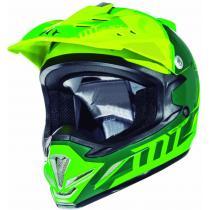 Dziecięcy kask motokrosowy MT MX-2 Spec fluo zielono-żółty