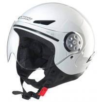 Dziecięcy otwarty kask motocyklowy NOX N216 biały