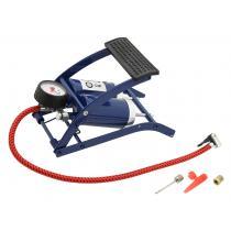 Dwutłokowa pompa nożna z manometrem