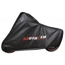 Pokrowiec garażowy na motocykl Motozem - czarny