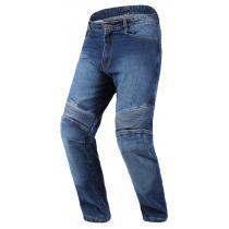 Jeansy na motocykl RSA niebieskie