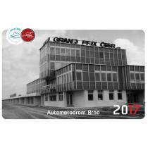 Kalendarz 30 let Automotodrom Brno 2017