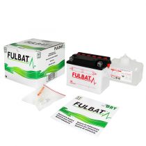 Conventional battery (incl.acid pack) FULBAT Acid pack included