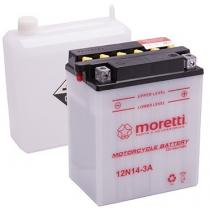 Akumulator kwasowo-ołowiowy Moretti 12N5,5-4A, 12V 5,5Ah
