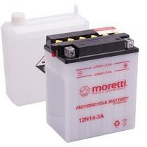Akumulator kwasowo-ołowiowy Moretti 12N7-3A, 12V 7Ah