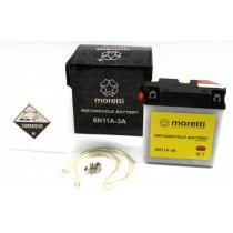 Akumulator kwasowo-ołowiowy Moretti 6N11A-3A, 6V 11Ah
