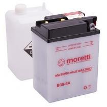 Akumulator kwasowo-ołowiowy Moretti B38-6A, 6V 13Ah