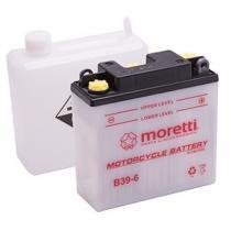 Akumulator kwasowo-ołowiowy Moretti B39-6, 6V 7Ah