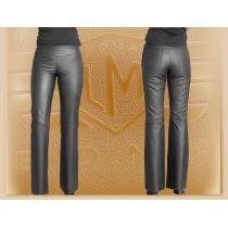 Spodnie skórzane do bioder Klasik - damskie wyprzedaż