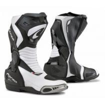 Moto buty Forma Hornet czarno-białe