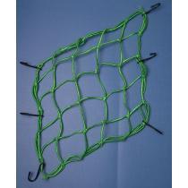 Siatka na bagaż - pająk – reflectiv zielona