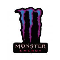 Naklejka Monster Energy modro-różowa