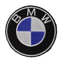 Naszywka i naklejka BMW