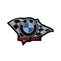 Naszywka i naklejka BMW RS mała