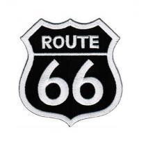 Naszywka i naklejka Route 66