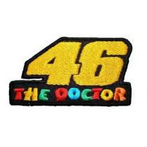 Naszywka i naklejka The Doctor 46