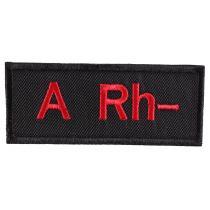 Naszywka z grupą krwi A Rh-
