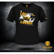 Męska koszulka Devils Wear - I am Howado-my speed my life