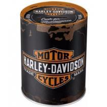 Metalowa skarbonka Harley-Davidson