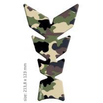 Naklejka na zbiornik Print - Anniversary Camouflage Sand wyprzedaż
