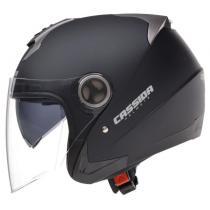 Kask motocyklowy Cassida Magnum – czarny matowy