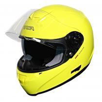 Kask motocyklowy RSA SR-01 żółty wyprzedaż