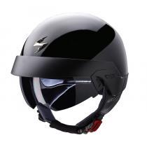 Kask motocyklowy Scorpion EXO-100 czarny połysk
