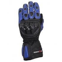 Moto rękawice Tschul 230 czarno-niebieskie wyprzedaż