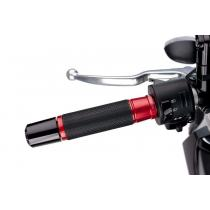 Grips PUIG ASCENT red 119mm