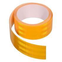 Samoprzylepna taśma odblaskowa 5m x 5cm żółta (rolka 5m)